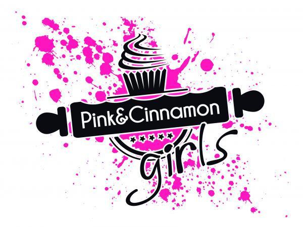 Pink & Cinnamon Cakery - T Shirt design