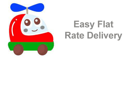 Easy Flat Rate Shipping